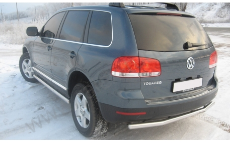 Защита задняя Volkswagen Touareg