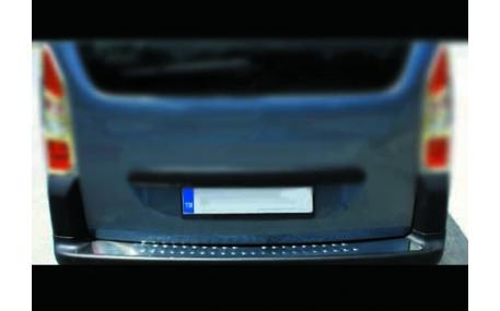 Накладка на задний бампер Peugeot Bipper