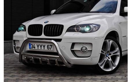 Защита передняя BMW X6 E71