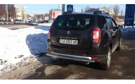 Защита задняя Renault Duster