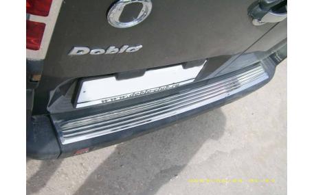Накладка на задний бампер Fiat Doblo