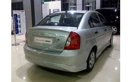 Накладка задняя Hyundai Accent