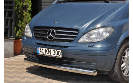 Защита передняя Mercedes Vito W639