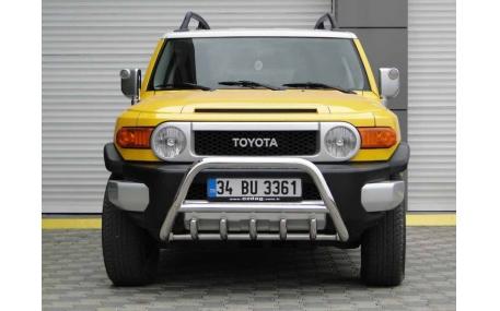Защита передняя Toyota FJ Cruiser