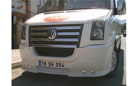 Бампер передний Volkswagen Crafter