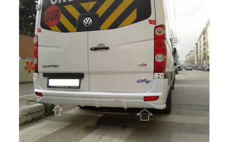 Бампер задний Volkswagen Crafter