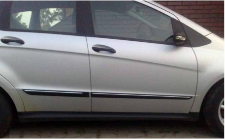 Молдинги дверей Mercedes A-class W168