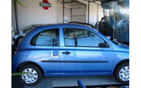 Молдинги дверей Nissan Micra