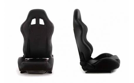Сиденья MONZA+ BLACK кожа