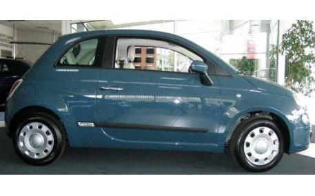 Молдинги дверей Fiat 500
