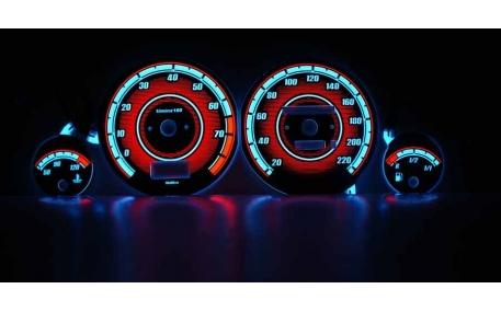 Шкалы приборов AUDI 80