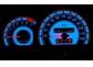 Шкалы приборов Opel Vectra A