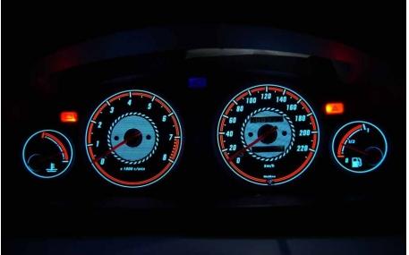 Шкалы приборов Honda Civic