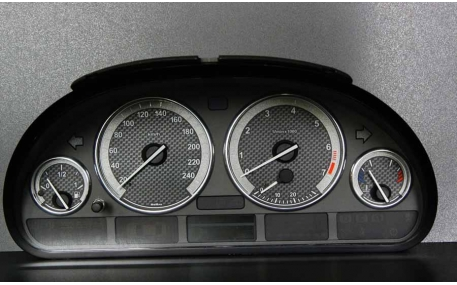 Шкалы приборов BMW X5 E53