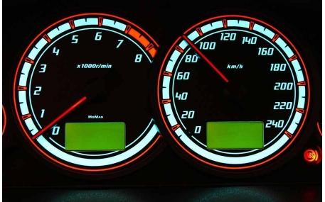 Шкалы приборов Ford Cougar