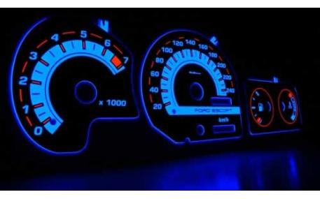 Шкалы приборов Ford Escort MK5/6