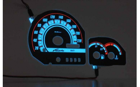Шкалы приборов Ford Fiesta MK3