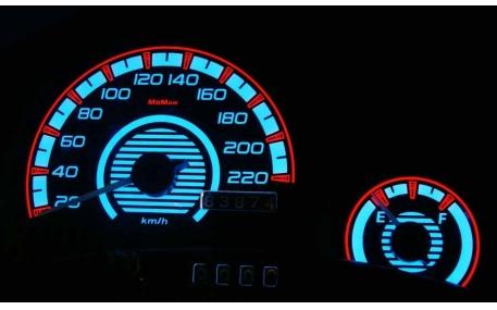 Шкалы приборов Ford Ka