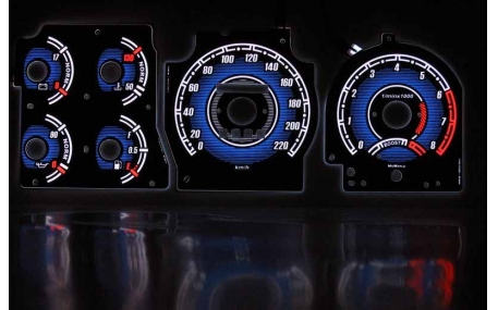 Шкалы приборов Ford Probe 2