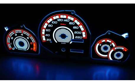 Шкалы приборов Ford Puma