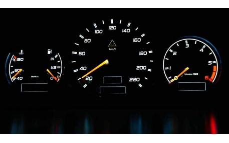 Шкалы приборов Mercedes