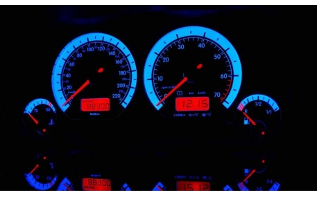 Шкалы приборов Volkswagen Golf 3