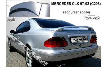 Спойлер Mercedes CLK-class W208