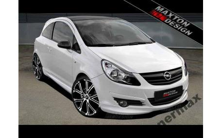 Накладка передняя Opel Corsa D