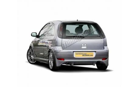 Накладка задняя Opel Corsa C