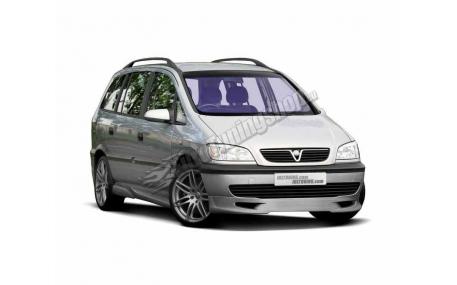 Накладка передняя Opel Zafira A