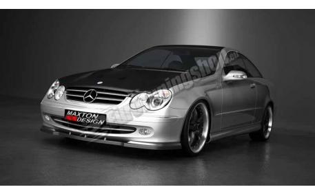 Накладка передняя Mercedes CLK-class W209