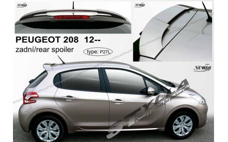 Спойлер Peugeot 208