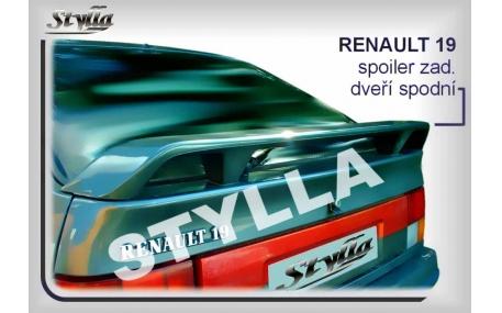 Спойлер Renault 19