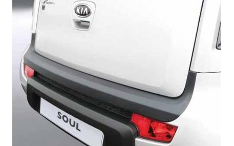 Накладка на задний бампер Kia Soul