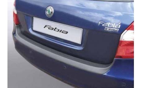 Накладка на задний бампер Skoda Fabia