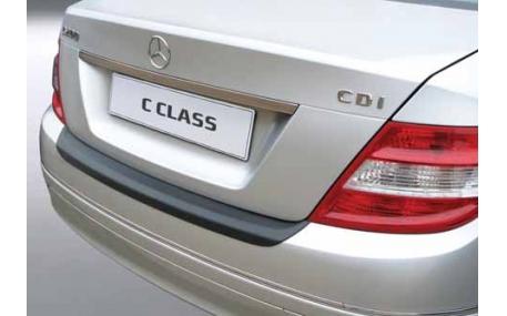 Накладка на задний бампер Mercedes C-class W204