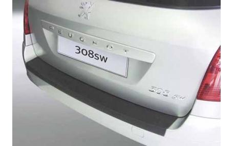 Накладка на задний бампер Peugeot 308 SW