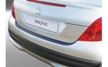 Накладка на задний бампер Peugeot 207СС