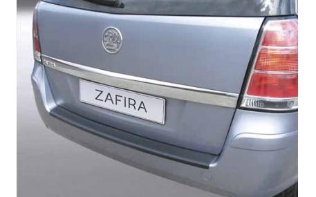 Накладка на задний бампер Opel Zafira B