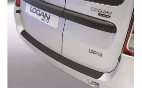 Накладка на задний бампер Renault Logan MCV