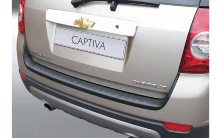 Накладка на задний бампер Chevrolet Captiva