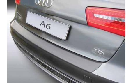 Накладка на задний бампер Audi A6 С7