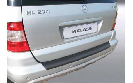 Накладка на задний бампер Mercedes ML-class W163