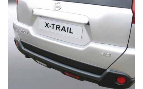 Накладка на задний бампер Nissan X-trail