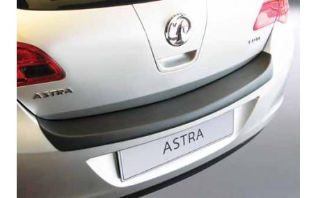 Накладка на задний бампер Opel Astra J
