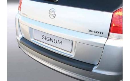 Накладка на задний бампер Opel Signum