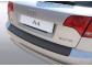 Накладка на задний бампер Audi A4 B7