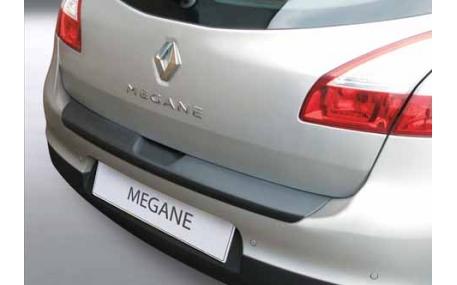 Накладка на задний бампер Renault Megane