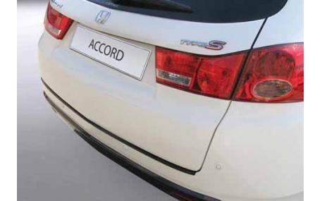 Накладка на задний бампер Honda Accord