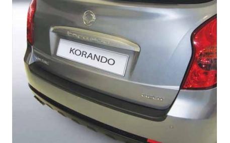 Накладка на задний бампер SsangYong Korando
